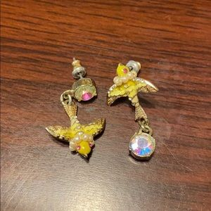 Betsey Johnson Short Earrings
